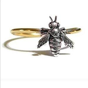 Minimalist Bee Ring